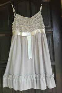RINASCIMENTO włoska szara piękna zwiewna sukienka M L...