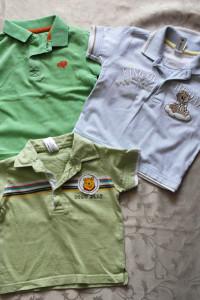 Trzy koszulki polo 86