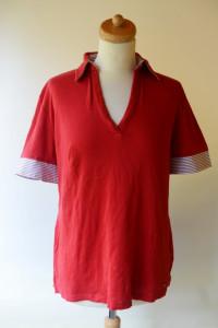 Koszulka Polo Czerwona Tommy Hilfiger L Mercerize