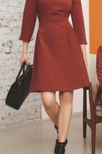 Orsay sukienka A business look ruda r 34 NOWA