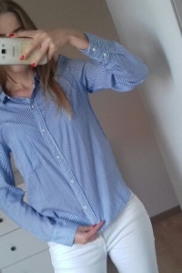 koszula paski Bershka XS