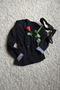 czarny żakiet elegancki s m