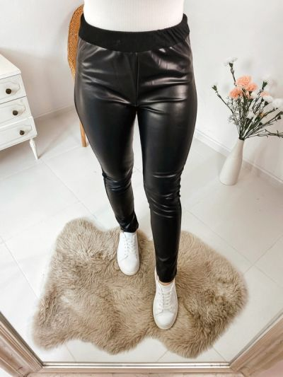 Spodnie Skórzane spodnie L