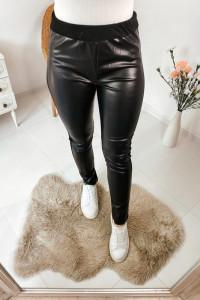 Skórzane spodnie L...