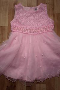 Sukienka różowa rozm 98