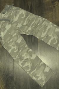 Next spodnie bojówki moro 110