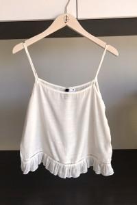 biala koszulka H&M