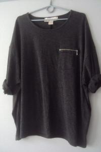 sweterkowa bluzeczka oversize