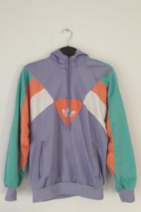 Oryginalna bluza ADIDAS z kapturem kolorowa...