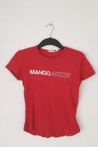 Bluzka z napisem mango addiction