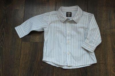 Koszulki, podkoszulki Koszula w paski H&M 74