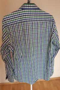 Koszula w kratę z długim rękawem