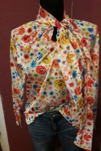 Koszula kolorowe kwiaty