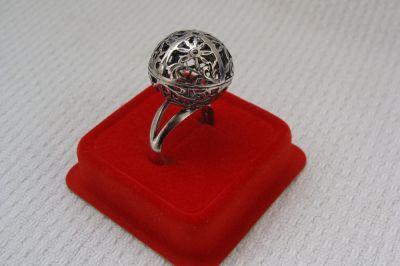 Pierścionki Pierścionek srebrny