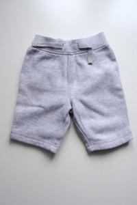 Szare dresowe spodnie rozmiar 62
