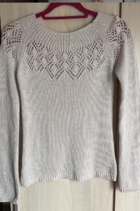 Sweter ażurowa góra
