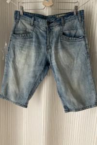 Jeansowe męskie spodenki