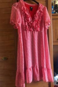 H&M śliczna lenia sukienka S M