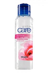 Oczyszczająca tonizująca woda różana...