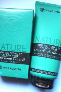 Yves Rocher Nature drzewo Cedrowe i Zielona Cytrynazestaw perfumowany