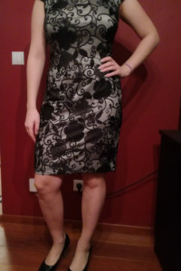 koronkowa sukienka Zaps...