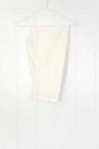 Nowe spodnie indyjskie M 38 L 40 bawełniane białe szarawary sal...