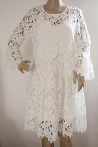Sukienka Biała NOWA Koronkowa Only S 36 Koronka