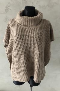 NOWY NEW LOOK brązowy sweter marki oversize