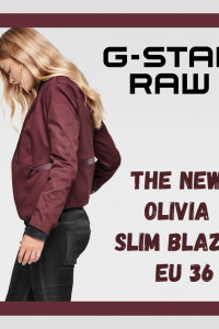 G Star Raw The New Olivia Slim Blazer EU 36