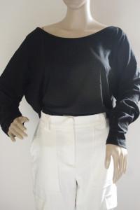 Body Nowe Czarne 3XL 46 H&M Bluzka Długi Rękaw