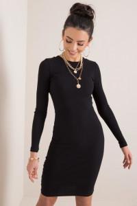 sukienka Vela RUE Paris S M L XL czarna beż