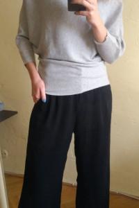 Szary sweter nietoperz PRIMARK 36