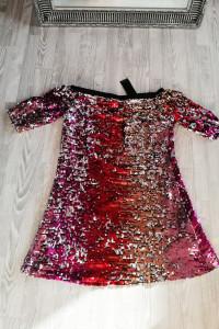 Nowa cekinowa sukienka 38 40...