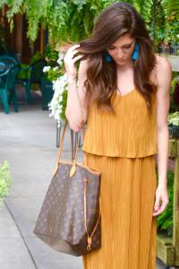 HM sukienka plisowana