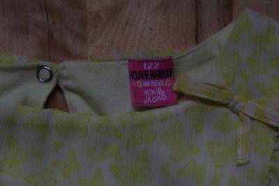 Sukienki i spódniczki Delikatna zółta sukienka 122