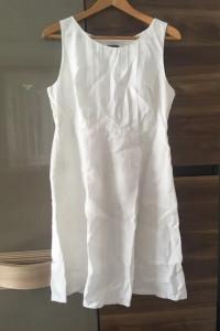 Sukienka MEXX 38 lato biała lato lniana...