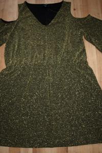 Złota sukienka 46 48...