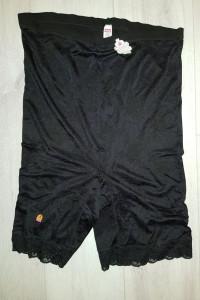 Nowe wysokie majtki bezszwowe z nogawkami Mey 54