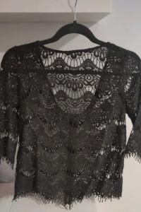 Koronkowa bluzka Zara...