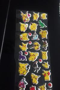 Naklejki Pokemon 3D...