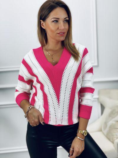 Swetry Sweter 2 kolorowy