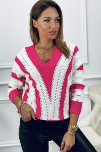 Sweter 2 kolorowy
