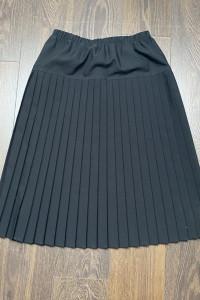 Spódnica z zakładkami czarna...