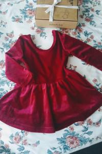 Świąteczna sukienka 74