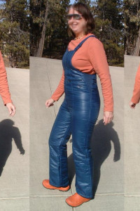 Spodnie Zimowe Ortalionowe...