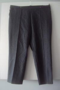 eleganckie spodnie w pepitke...