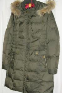 Puchowy płaszcz CiA 36