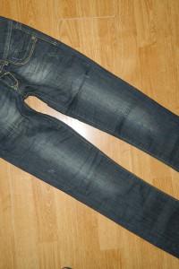 CROSS Paris spodnie jeansowe roz 26 34...