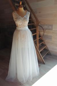 Suknia ślubna 2czesciowa mała Princess...