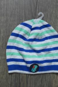 Nowa czapeczka w paseczki 74 80